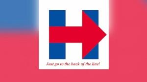 Hillary Clinton Logo Parody 2